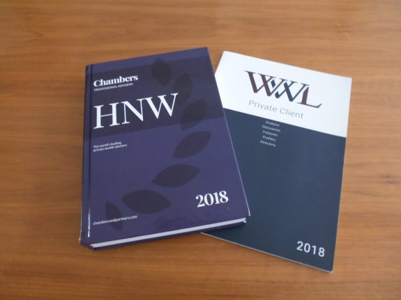 Štěpán Holub Once Again Included in the Independent Directory of Prestigious Lawyers - Who's Who Legal and Chambers & Partners